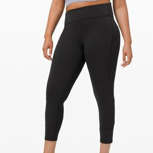 "lululemon In Movement Tight 25"" Everlux"
